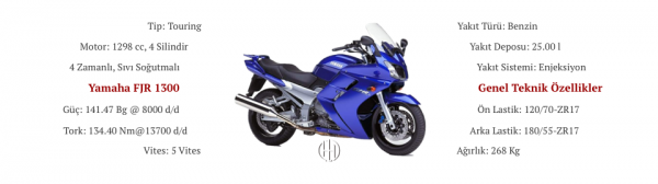 Yamaha FJR 1300 (2001 - 2006) - Motodeks