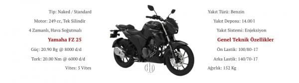 Yamaha FZ 25 (2020 - XXXX) - Motodeks