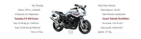 Yamaha FZ 400 Fazer (1997 - 2000) - Motodeks