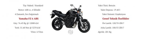 Yamaha FZ 6 ABS (2007 - 2008) - Motodeks