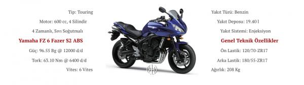 Yamaha FZ 6 Fazer S2 ABS (2007 - 2009) - Motodeks