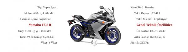 Yamaha FZ 6 R (2009 - 2018) - Motodeks