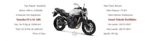 Yamaha FZ 6 S2 ABS (2007 - 2009) - Motodeks