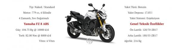 Yamaha FZ 8 ABS (2011 - 2013) - Motodeks