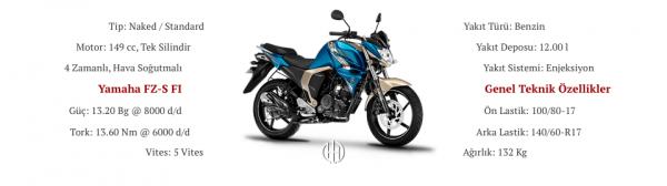 Yamaha FZ-S FI (2017 - 2019) - Motodeks