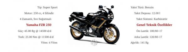 Yamaha FZR 250 (1986 - 1988) - Motodeks