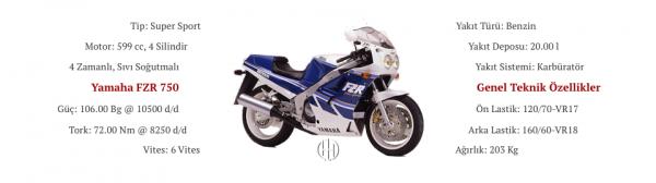 Yamaha FZR 750 (1987 - 1990) - Motodeks