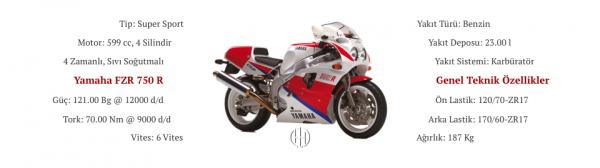 Yamaha FZR 750 R (1989 - 1990) - Motodeks