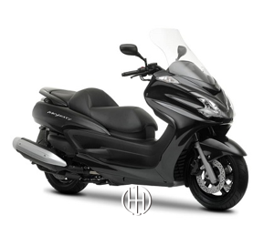 Yamaha Grand Majesty 400 (2011 - 2015) - Motodeks