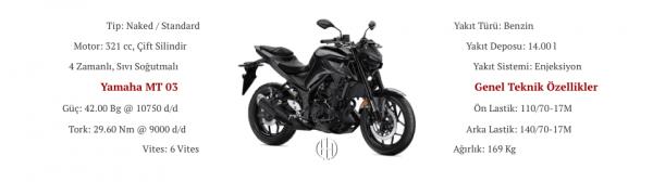 Yamaha MT 03 (2020 - XXXX) - Motodeks