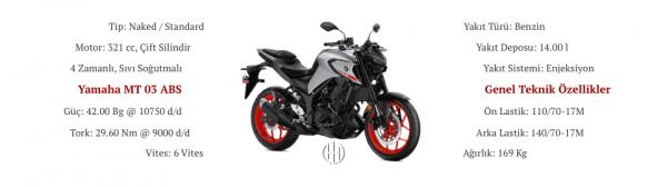 Yamaha MT 03 ABS (2020 - XXXX) - Motodeks