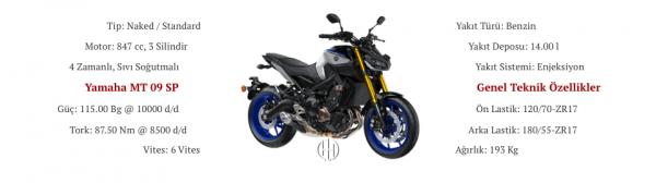 Yamaha MT 09 SP (2018 - XXXX) - Motodeks