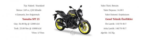 Yamaha MT 25 (2016 - 2019) - Motodeks