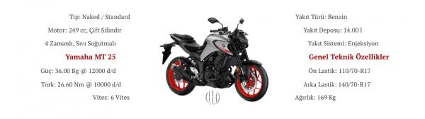Yamaha MT 25 (2020 - XXXX) - Motodeks