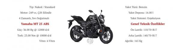 Yamaha MT 25 ABS (2016 - 2019) - Motodeks