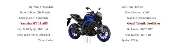 Yamaha MT 25 ABS (2020 - XXXX) - Motodeks