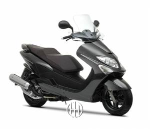 Yamaha Majesty 125 (2003 - 2009) - Motodeks