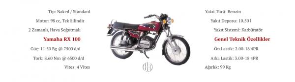 Yamaha RX 100 (1990) - Motodeks