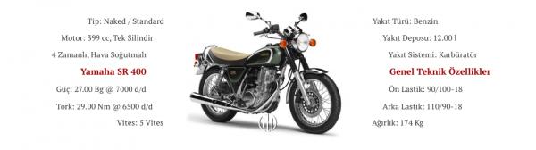 Yamaha SR 400 (2001 - 2013) - Motodeks
