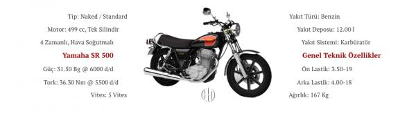 Yamaha SR 500 (1978 - 1984) - Motodeks
