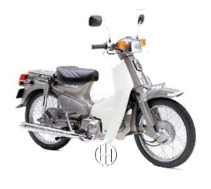 Honda C 90 (1967 - 1983) - Motodeks