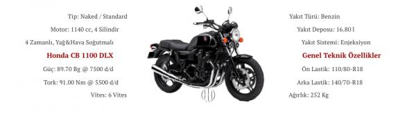 Honda CB 1100 DLX (2014 - 2017) - Motodeks
