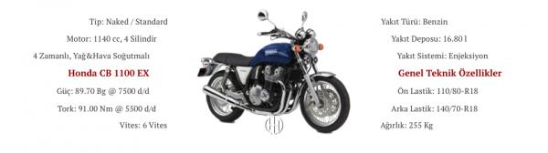 Honda CB 1100 EX (2014 - XXXX) - Motodeks