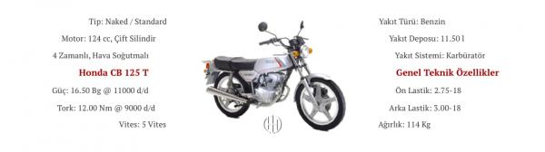 Honda CB 125 T (1977 - 1991) - Motodeks