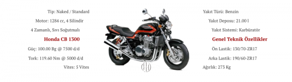 Honda CB 1300 (1998 - 2002) - Motodeks