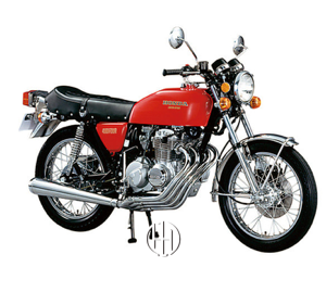 Honda CB 400 Four (1975 - 1977) - Motodeks