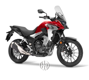 Honda CB 400 X (2016 - XXXX) - Motodeks