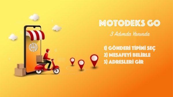 Motodeks Go Gönderi Talimatları