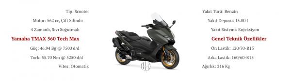 Yamaha TMAX 560 Tech Max (2020 - XXXX) - Motodeks
