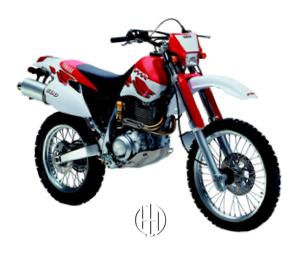 Yamaha TT 600 R (1998 - 2002) - Motodeks