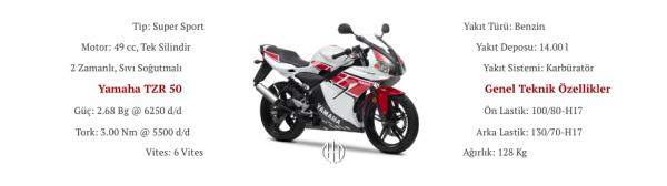 Yamaha TZR 50 (2003 - 2016) - Motodeks