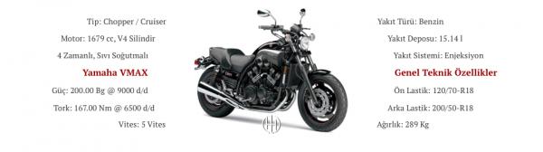 Yamaha VMAX (2009 - XXXX) - Motodeks