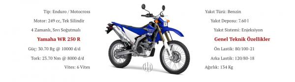 Yamaha WR 250 R (2007 - XXXX) - Motodeks