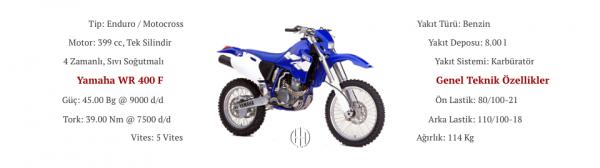 Yamaha WR 400 F (1998 - 2000) - Motodeks