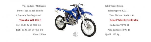 Yamaha WR 426 F (2001 - 2002) - Motodeks
