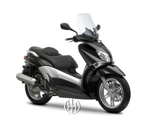 Yamaha X-City 125 (2008 - 2014) - Motodeks