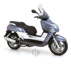 Yamaha XC 300 Versity (2004 - 2008) - Motodeks