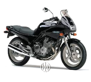 Yamaha XJ 400 S Diversion (1991 - 1992) - Motodeks