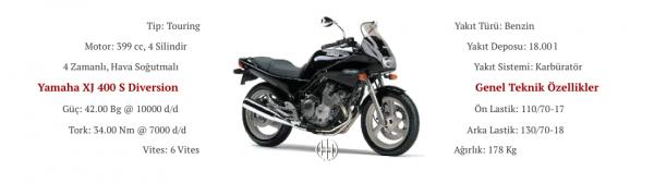 Yamaha XJ 400 S Diversion (1991 - 1992) - Motodeks