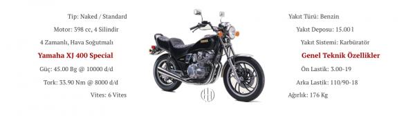 Yamaha XJ 400 Special (1981) - Motodeks