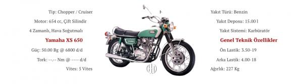 Yamaha XS 650 (1975 - 1984) - Motodeks