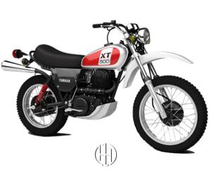 Yamaha XT 500 (1976 - 1990) - Motodeks
