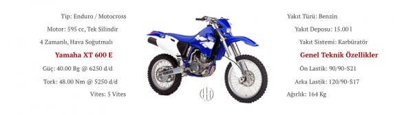 Yamaha XT 600 E (1990 - 2003) - Motodeks