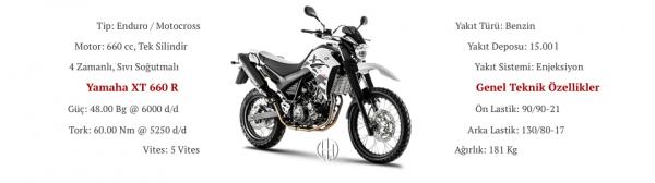 Yamaha XT 660 R (2004 - 2016) - Motodeks
