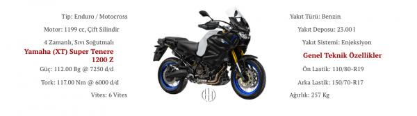 Yamaha (XT) Super Tenere 1200 Z (2019 - XXXX) - Motodeks