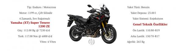 Yamaha (XT) Super Tenere 1200 ZE (2019 - XXXX) - Motodeks